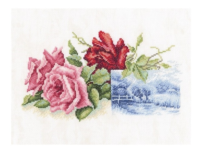 Rose Miniature Cross Stitch Kit фото 1