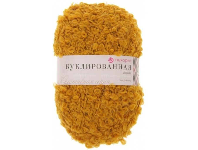 Pekhorka Boucle, 30% Mohair, 20% Wool, 50% Acrylic, 5 Skein Value Pack, 1000g фото 23