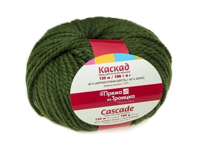 Troitsk Wool Cascade, 40% wool, 60% acrylic 10 Skein Value Pack, 1000g фото 24