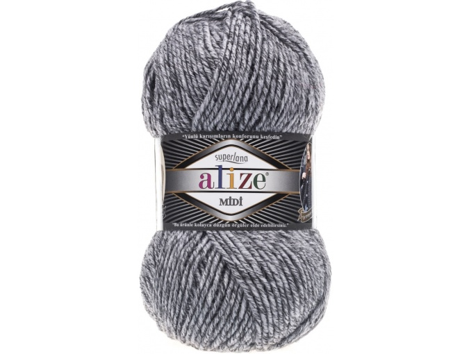 Alize Superlana Midi 25% Wool, 75% Acrylic, 5 Skein Value Pack, 500g фото 44