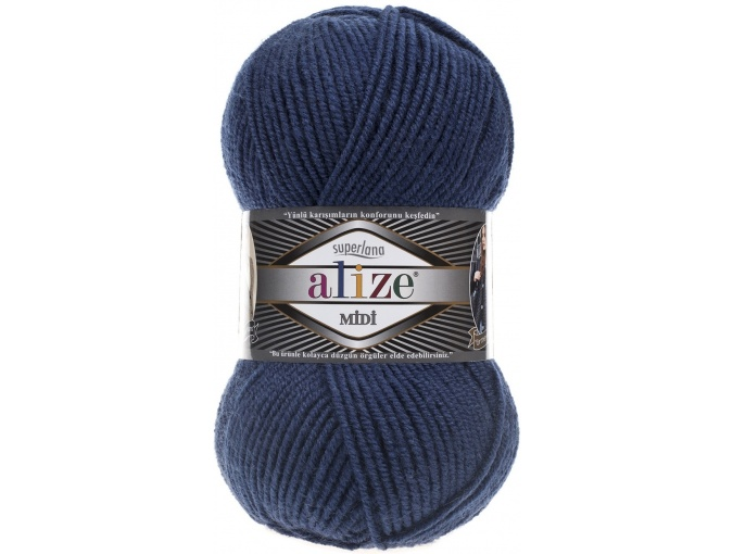 Alize Superlana Midi 25% Wool, 75% Acrylic, 5 Skein Value Pack, 500g фото 25