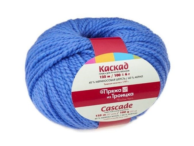 Troitsk Wool Cascade, 40% wool, 60% acrylic 10 Skein Value Pack, 1000g фото 3