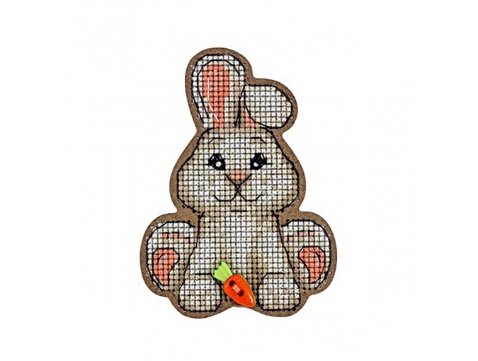 Bunny Original Magnet Cross Stitch Kit фото 1