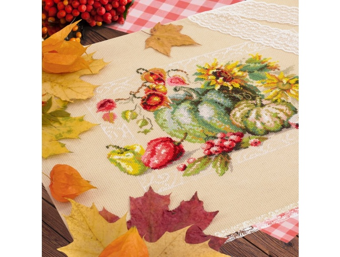 Autumn Gifts Cross Stitch Kit фото 5