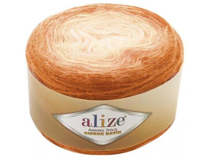 Alize Angora Gold Ombre Batik, 20% Wool, 80% Acrylic 4 Skein Value Pack, 600g фото 10