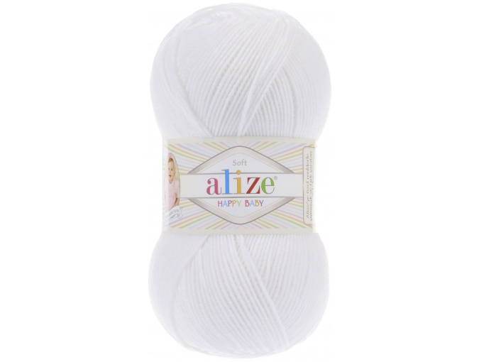 Alize Happy Baby 65% Acrylic, 35% Polyamide, 5 Skein Value Pack, 500g фото 6