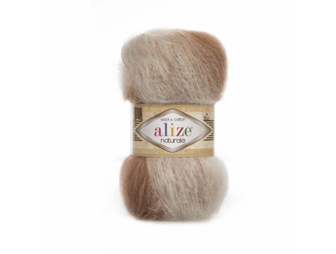 Alize Naturale, 60% Wool, 40% Cotton, 5 Skein Value Pack, 500g фото 1