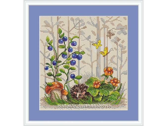 Forest Story Cross Stitch Chart фото 1