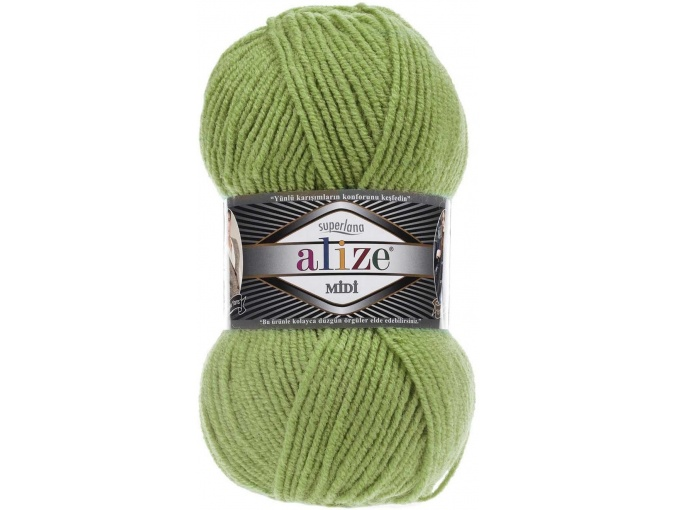 Alize Superlana Midi 25% Wool, 75% Acrylic, 5 Skein Value Pack, 500g фото 33