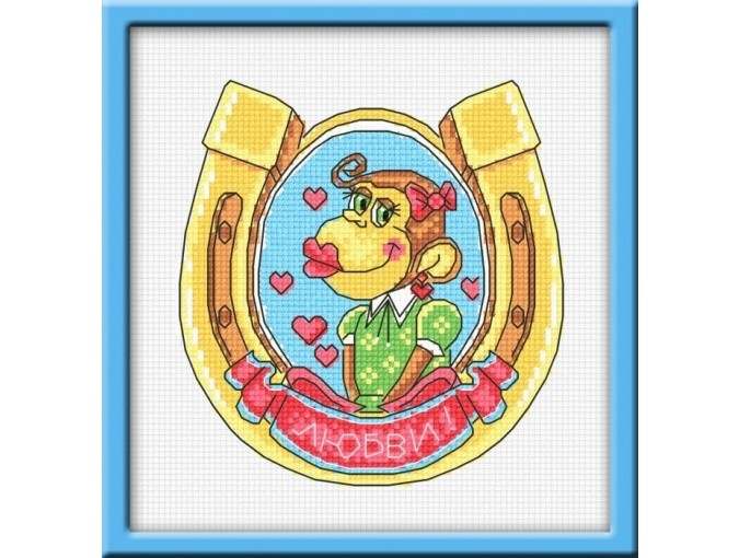 Good Luck in Love Cross Stitch Kit фото 1