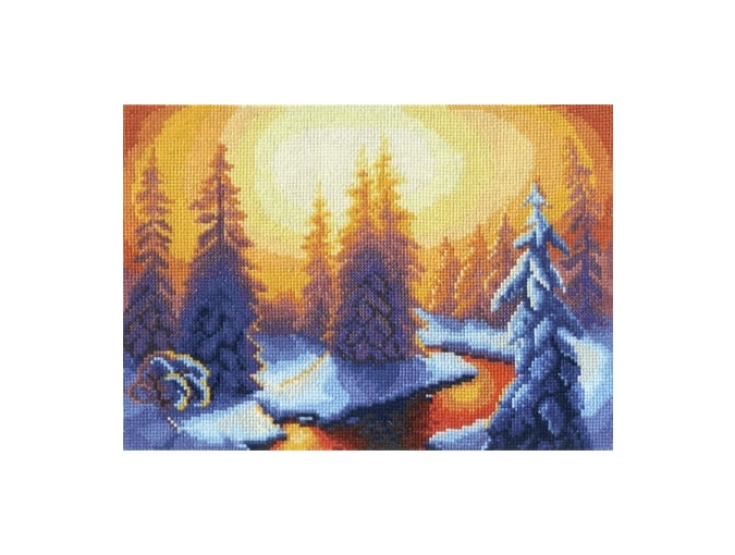 Hot Springs Cross Stitch Kit фото 1