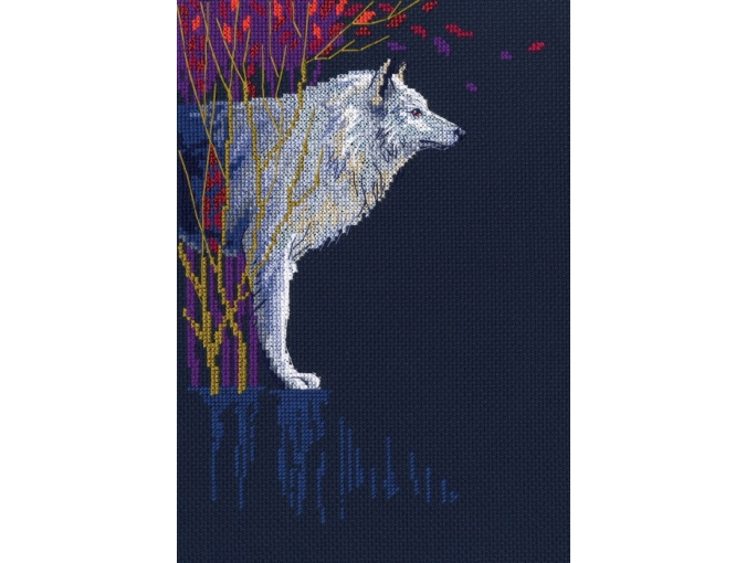 Wolf Leader Cross Stitch Kit фото 1