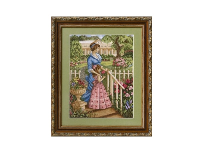 In a Blossoming Garden Cross Stitch Kit фото 2