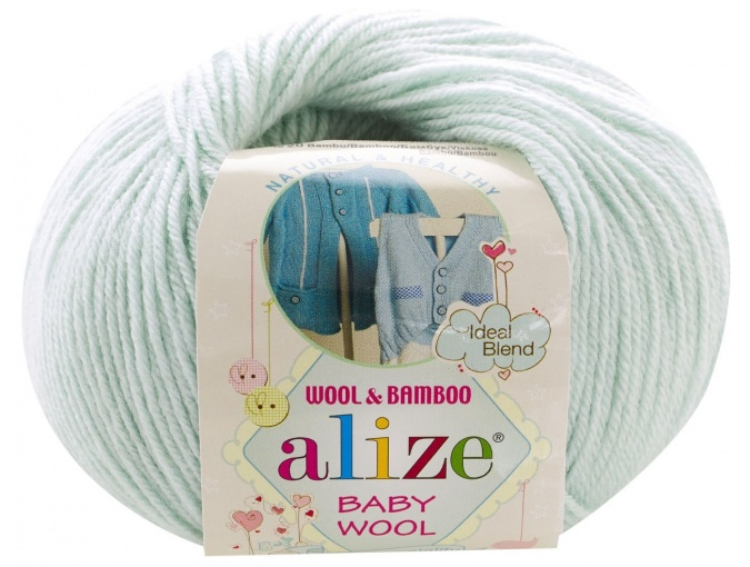 Alize Baby Wool, 40% wool, 20% bamboo, 40% acrylic 10 Skein Value Pack, 500g фото 40