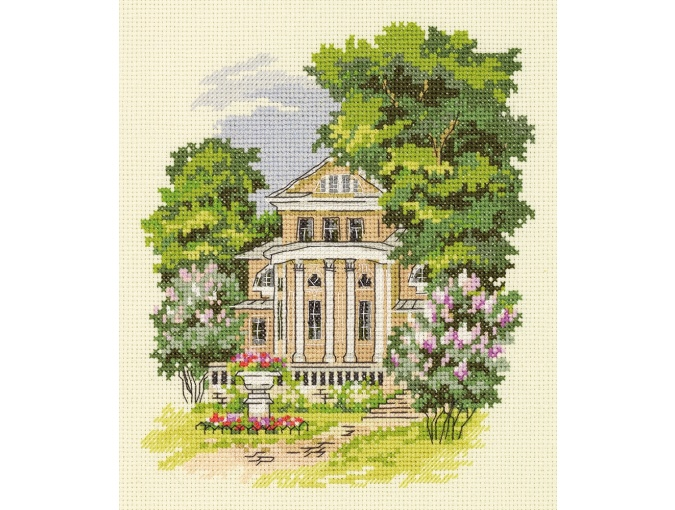Manor House Cross Stitch Kit фото 1