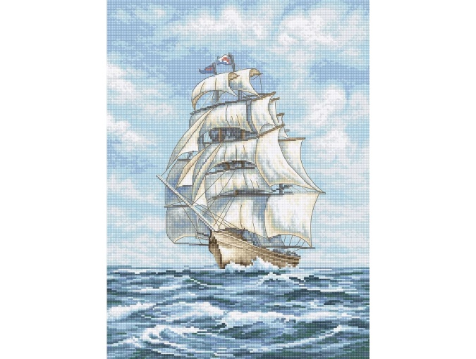 Ship 2 Cross Stitch Kit фото 1