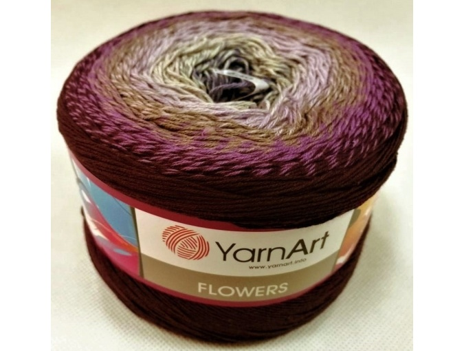 YarnArt Flowers, 55% Cotton, 45% Acrylic, 2 Skein Value Pack, 500g фото 53