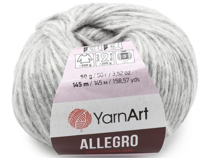 YarnArt Allegro 13% Wool, 41% Polyamid, 46% Acrylic, 10 Skein Value Pack, 500g фото 7