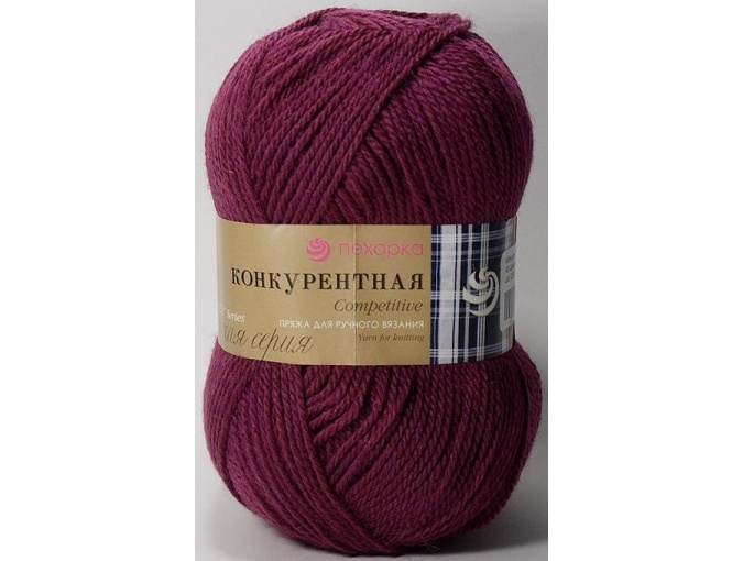 Pekhorka Competitive, 50% Wool, 50% Acrylic 10 Skein Value Pack, 1000g фото 10