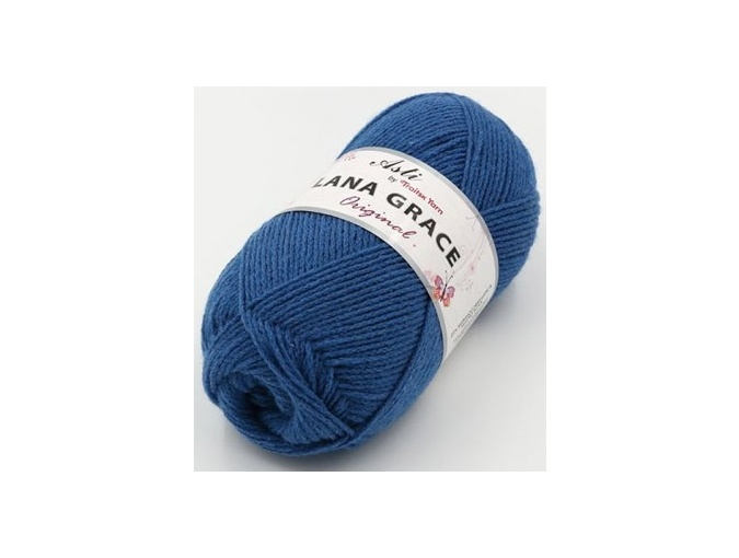 Troitsk Wool Lana Grace Original, 25% Merino wool, 75% Super soft acrylic 5 Skein Value Pack, 500g фото 9