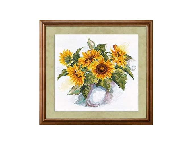 Sunflowers Cross Stitch Kit by Alisa фото 1