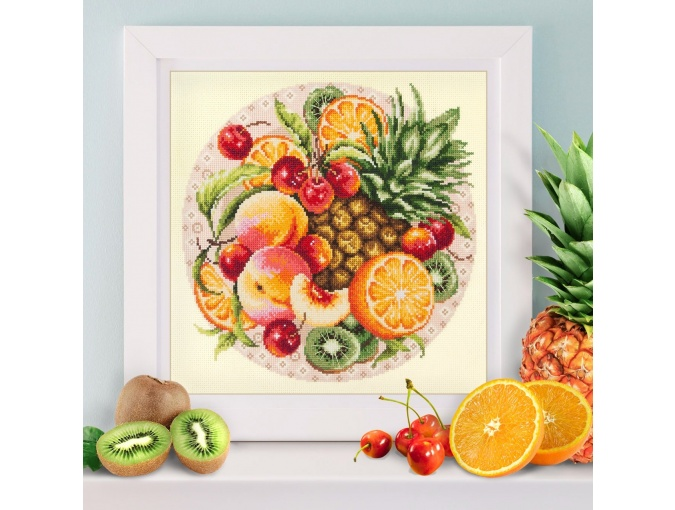Exotic Fruits Cross Stitch Kit фото 4