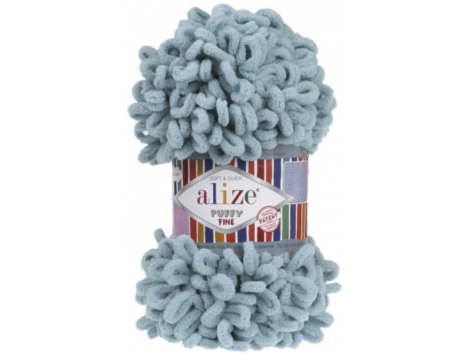 Alize Puffy Fine, 100% Micropolyester 5 Skein Value Pack, 500g фото 25