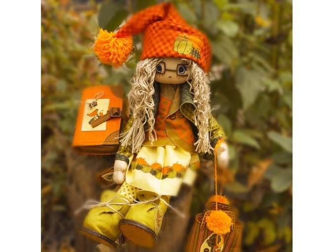 Favorite Heroes. Autumn Doll Sewing Kit фото 6