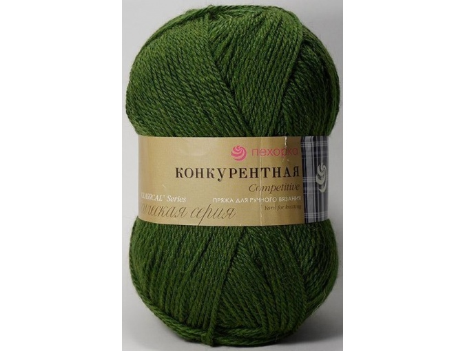 Pekhorka Competitive, 50% Wool, 50% Acrylic 10 Skein Value Pack, 1000g фото 30