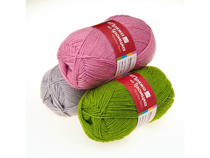 Troitsk Wool Michelle, 100% Acrylic 5 Skein Value Pack, 500g фото 1