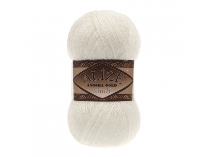Alize Angora Gold Simli, 5% Lurex, 10% Mohair, 10% Wool, 75% Acrylic, 5 Skein Value Pack, 500g фото 43