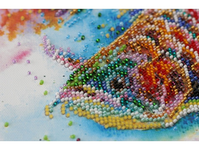 Good Luck Fish Bead Embroidery Kit фото 5