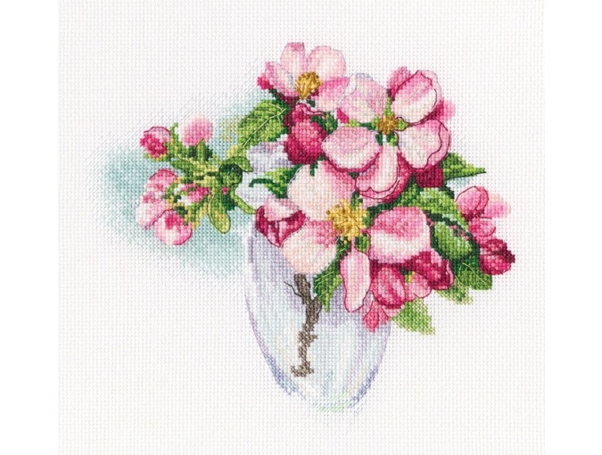 Bloomy Twig Cross Stitch Kit фото 1