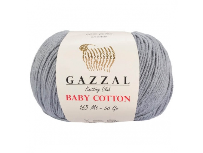 Gazzal Baby Cotton, 60% Cotton, 40% Acrylic 10 Skein Value Pack, 500g фото 42