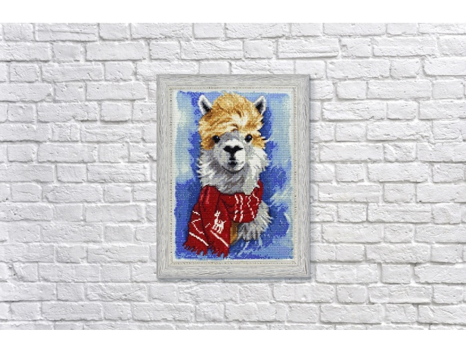 Llama Diamond Painting Kit фото 3