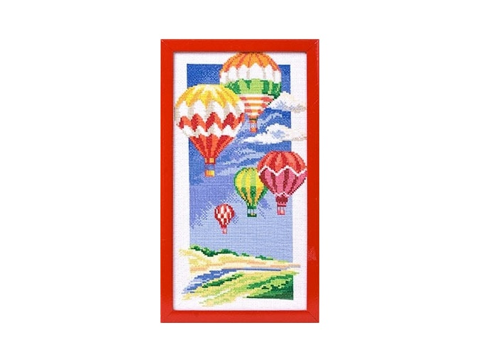Air Balloons Cross Stitch Kit фото 2