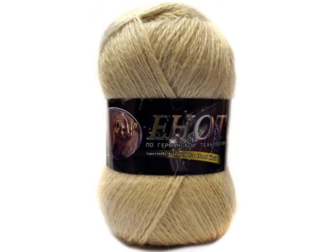 Color City Raccoon 60% Lambswool, 20% Raccoon Wool, 20% Acrylic, 10 Skein Value Pack, 1000g фото 2