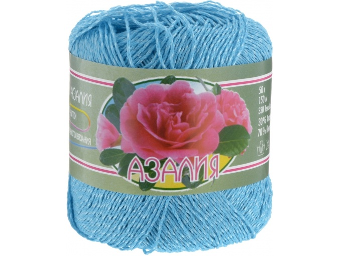 Kirova Fibers Azalea, 30% cotton, 70% viscose 4 Skein Value Pack, 200g фото 16