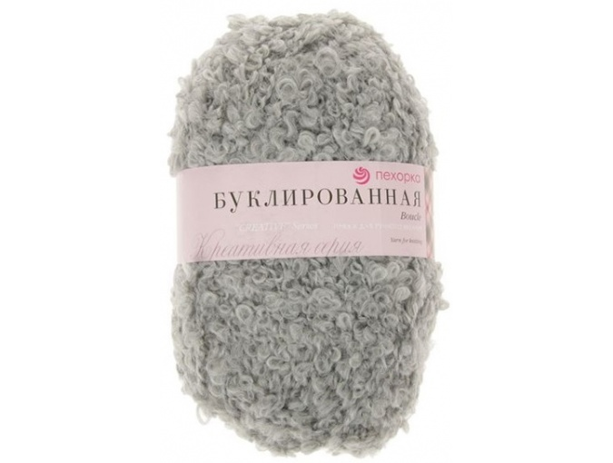 Pekhorka Boucle, 30% Mohair, 20% Wool, 50% Acrylic, 5 Skein Value Pack, 1000g фото 21