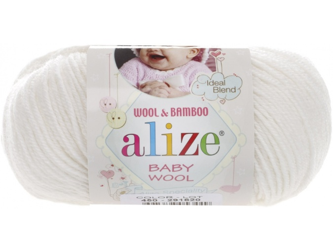 Alize Baby Wool, 40% wool, 20% bamboo, 40% acrylic 10 Skein Value Pack, 500g фото 38