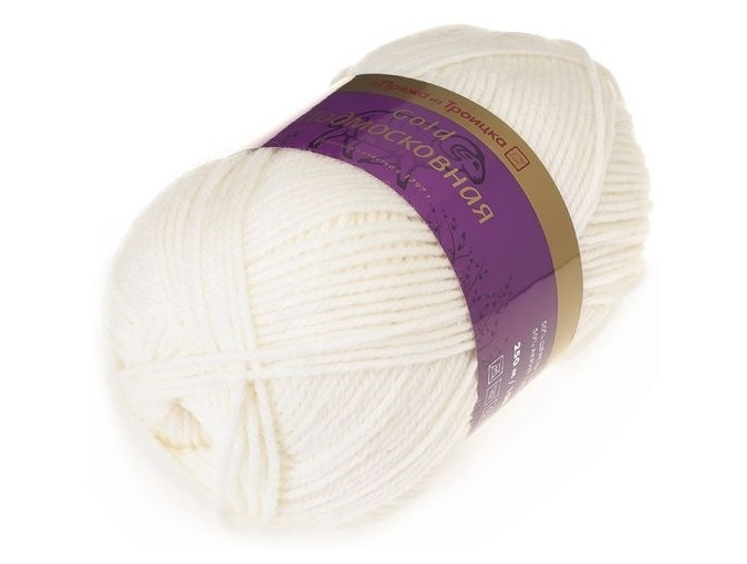 Troitsk Wool Countryside Gold, 50% wool, 50% acrylic 5 Skein Value Pack, 500g фото 6