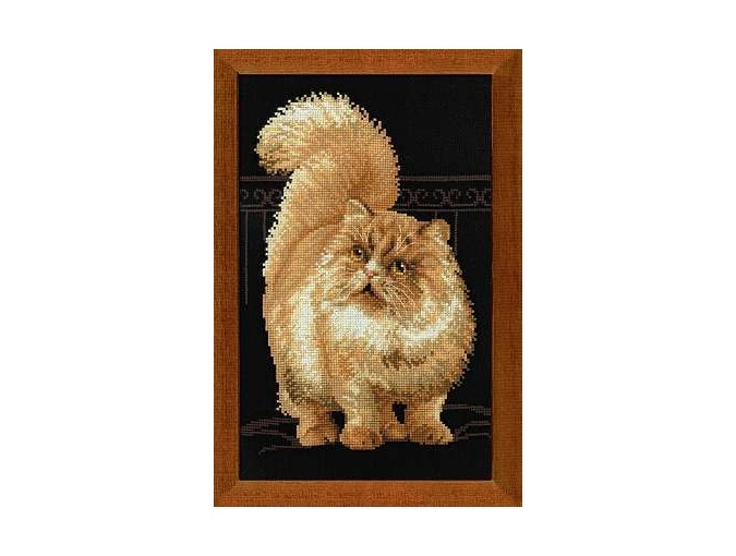 Persian Cat Cross Stitch Kit  фото 1