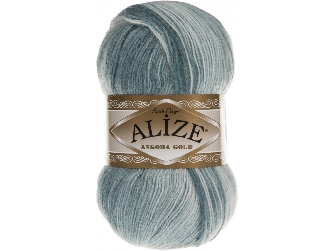 Alize Angora Gold Batik, 10% mohair, 10% wool, 80% acrylic 5 Skein Value Pack, 500g фото 64