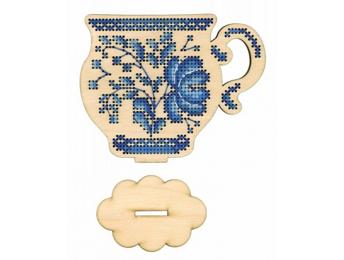 Tea Time Embroidery Kit фото 1