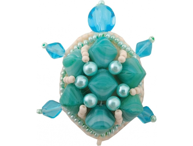 Turtle Embroidery Kit фото 1