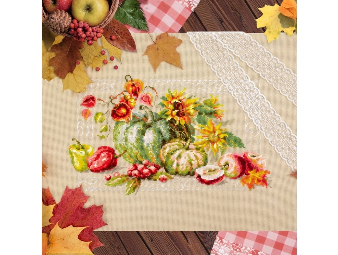 Autumn Gifts Cross Stitch Kit фото 4