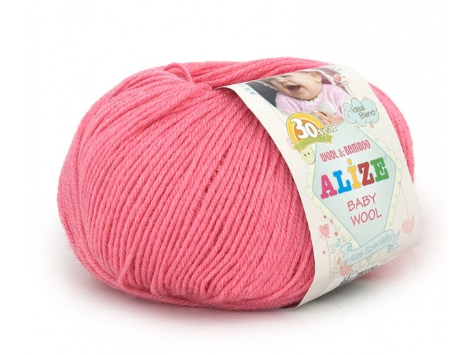 Alize Baby Wool, 40% wool, 20% bamboo, 40% acrylic 10 Skein Value Pack, 500g фото 4