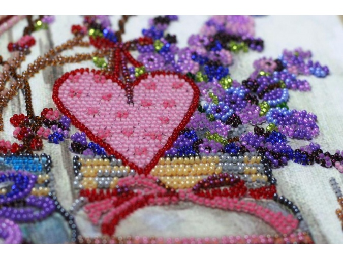 About Love Bead Embroidery Kit фото 7