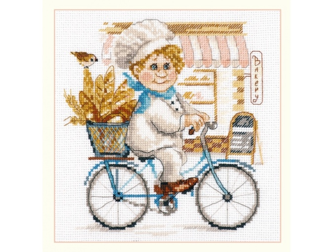 Baker Cross Stitch Kit фото 1