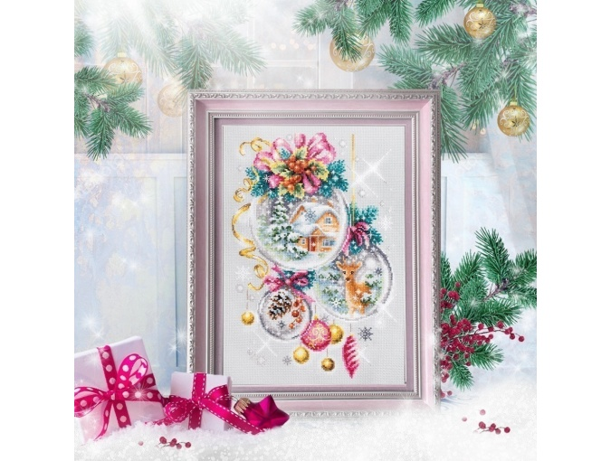 A Christmas Fairy Tail Cross Stitch Kit фото 3
